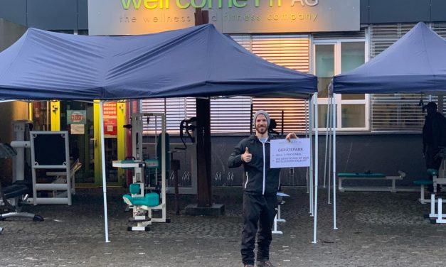 FITNESS PARCOURS VOR DEM WELL COME FIT FRAUENFELD