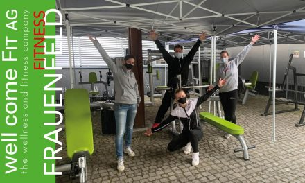 NEUER OUTDOOR GERÄTEPARK IM WELL COME FIT FRAUENFELD